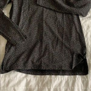 Old Navy Shirts & Tops - Dark Grey Top with White Dots **3 for $10**